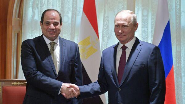 露・エジプト首脳 - Sputnik 日本