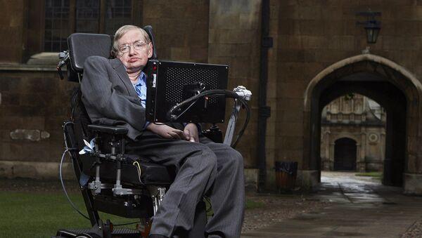 Stephen Hawking, reconocido físico y divulgador científico británico - Sputnik 日本