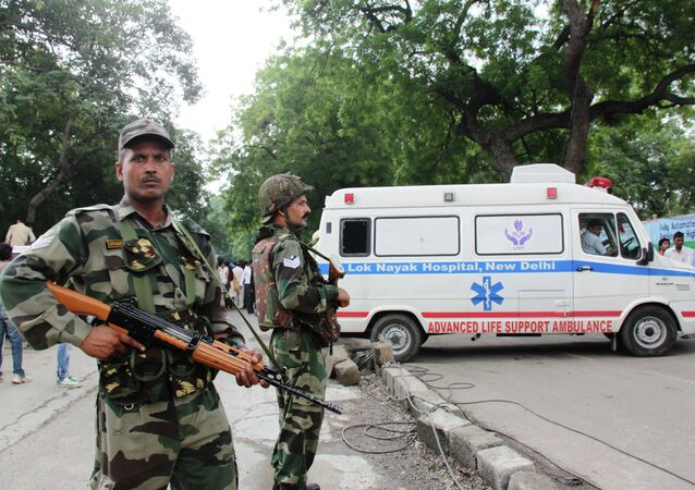 インドの警察(アーカイブ写真)