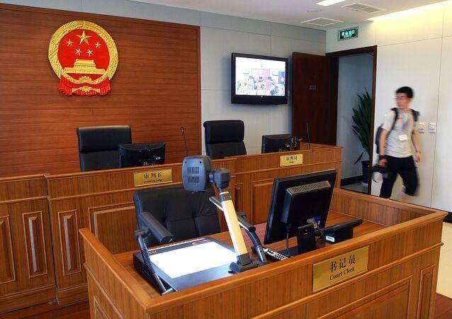 中国の裁判所(アーカイブ写真)