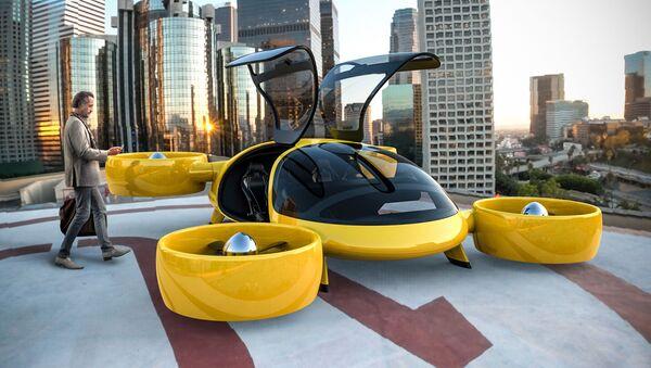 ロシアに空飛ぶタクシー 市場に出現は2020年をめど - Sputnik 日本