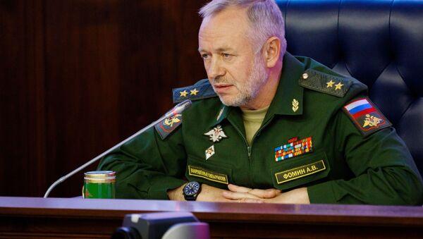 Заместитель министра обороны РФ Александр Фомин. Архивное фото - Sputnik 日本