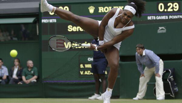 Американская теннисистка Серена Уильямс - Sputnik 日本