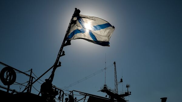 ロシア海軍の軍艦旗 - Sputnik 日本