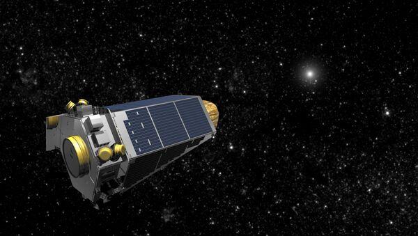 NASA's Kepler spacecraft is seen in an undated artist's rendering - Sputnik 日本