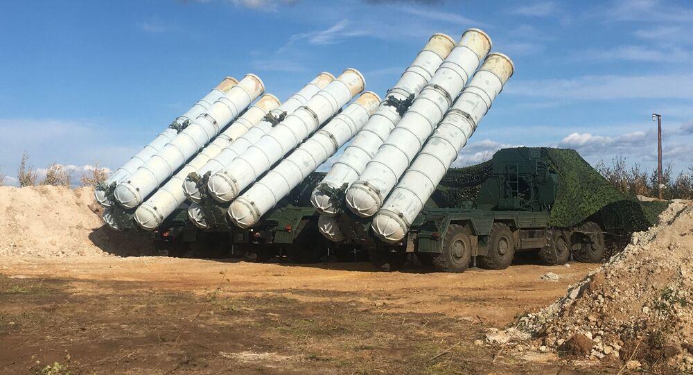ロシア製ミサイルシステムS-400