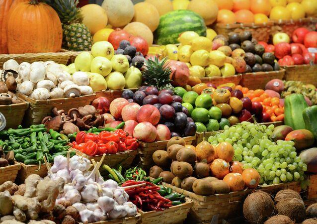 果物と野菜(アーカイブ写真)