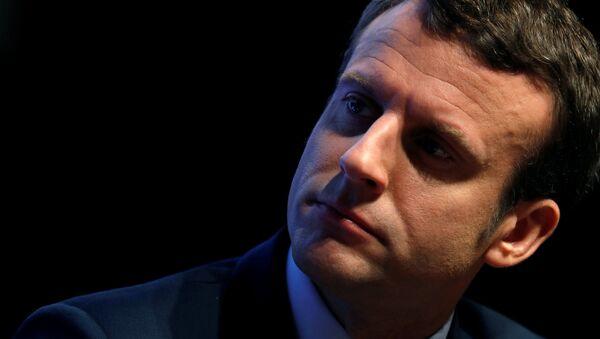 フランスのマクロン大統領(アーカイブ写真) - Sputnik 日本