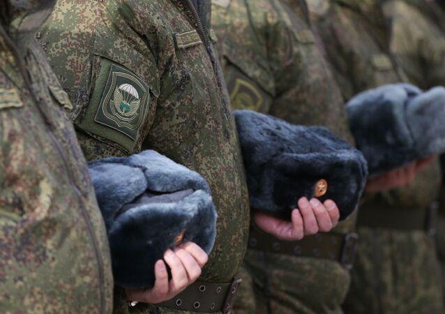 ロシアの軍人