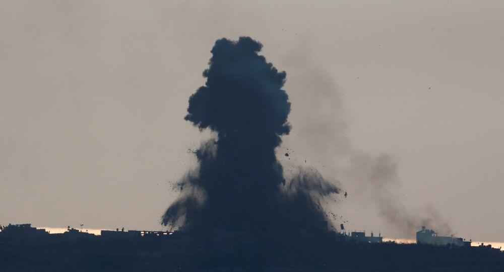 イスラエル軍、ガザ地区(アーカイブ写真)