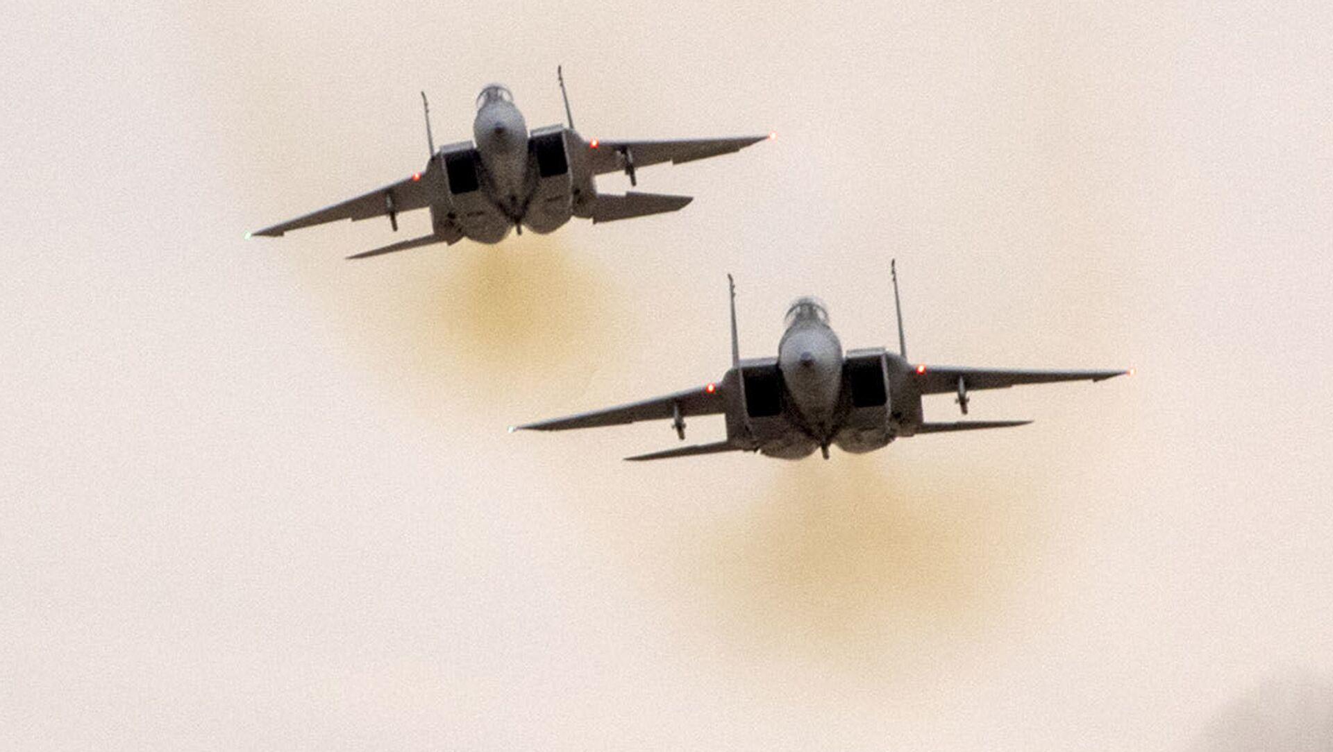 Истребители F-15 ВВС Израиля - Sputnik 日本, 1920, 14.10.2021