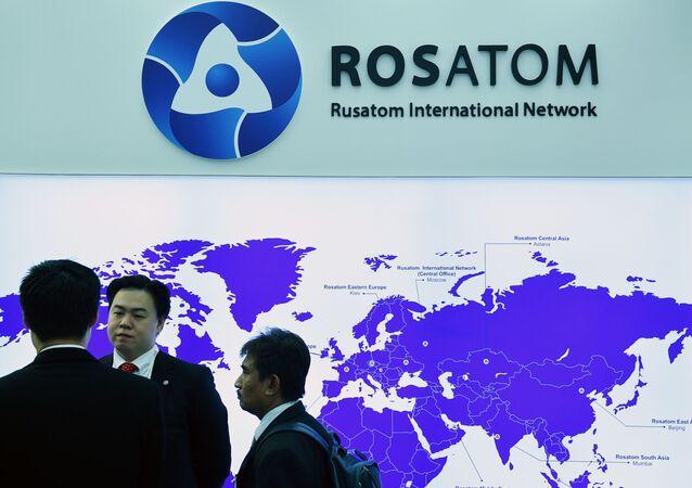 ロシアの国営原子力公社「ロスアトム」(アーカイブ写真)