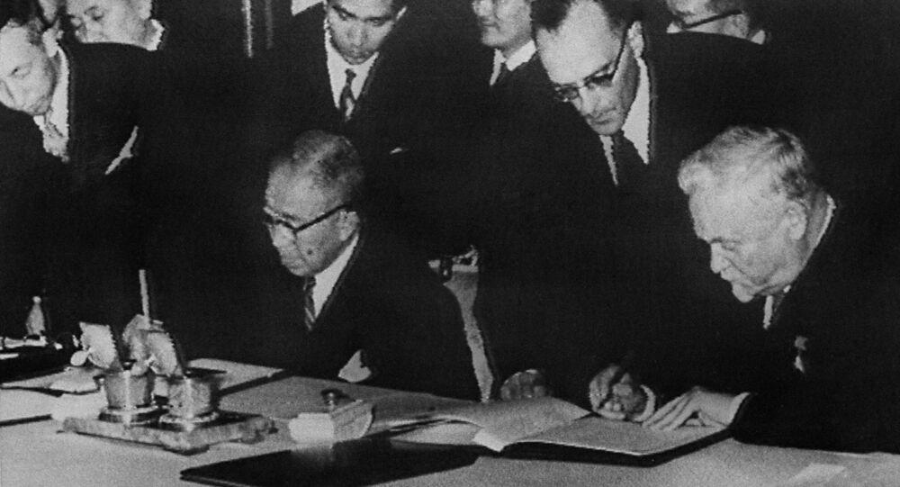 1956年のソ日共同宣言