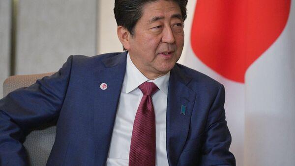 日本の安倍首相 - Sputnik 日本