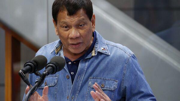 フィリピンのドゥテルテ大統領(アーカイブ写真) - Sputnik 日本