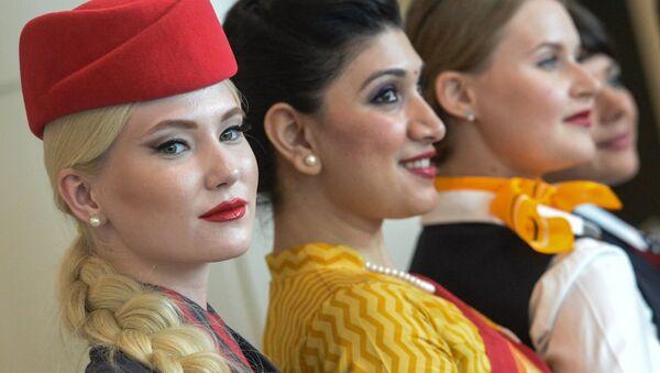 客室乗務員ファッションショー - Sputnik 日本