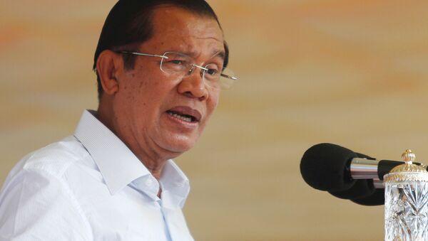 Премьер-министр Камбоджи Хун Сен - Sputnik 日本