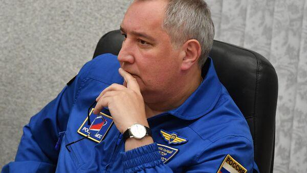 ロシアの国営宇宙開発企業「ロスコスモス」のドミトリー・ロゴージンCEO - Sputnik 日本