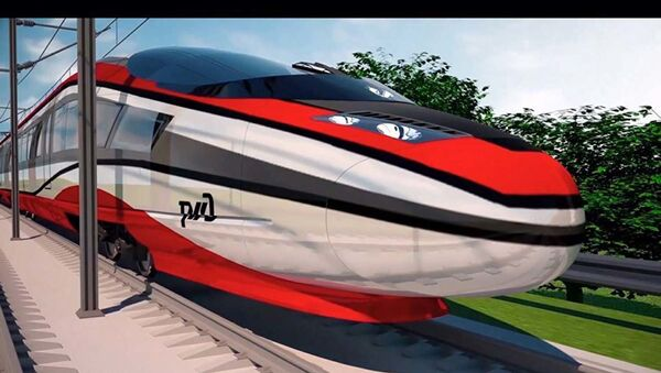 ロシア鉄道、高速列車のコンセプト開発 - Sputnik 日本