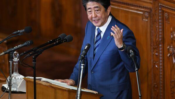 安倍首相(アーカイブ写真) - Sputnik 日本