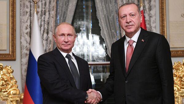 プーチン大統領とエルドアン大統領 - Sputnik 日本