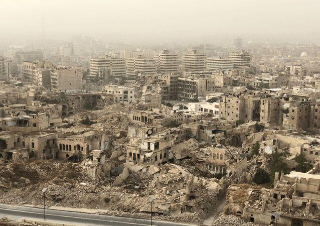 アレッポでの攻撃で46人が負傷ーロシア国防省