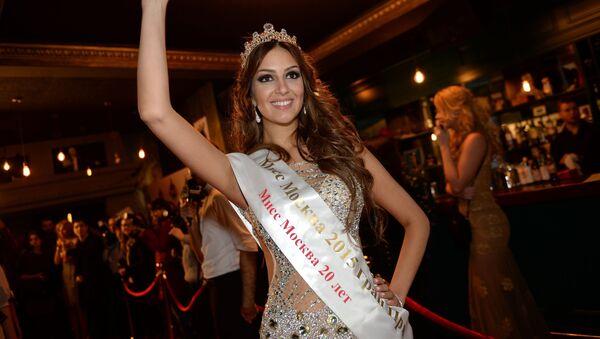 Мисс Москва 2015 Оксана Воеводина - Sputnik 日本