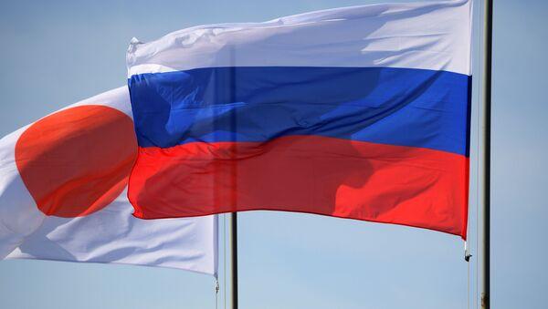 日本の旗とロシアの旗 - Sputnik 日本