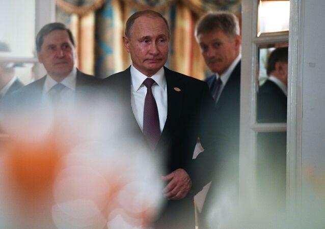 プーチン大統領 【アーカイブ写真】