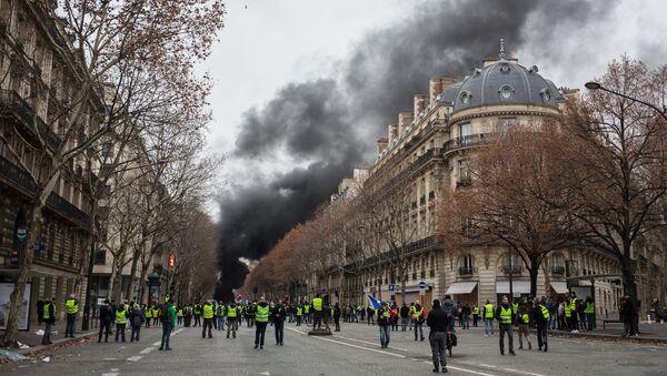 パリに行われるデモ(アーカイブ写真) - Sputnik 日本