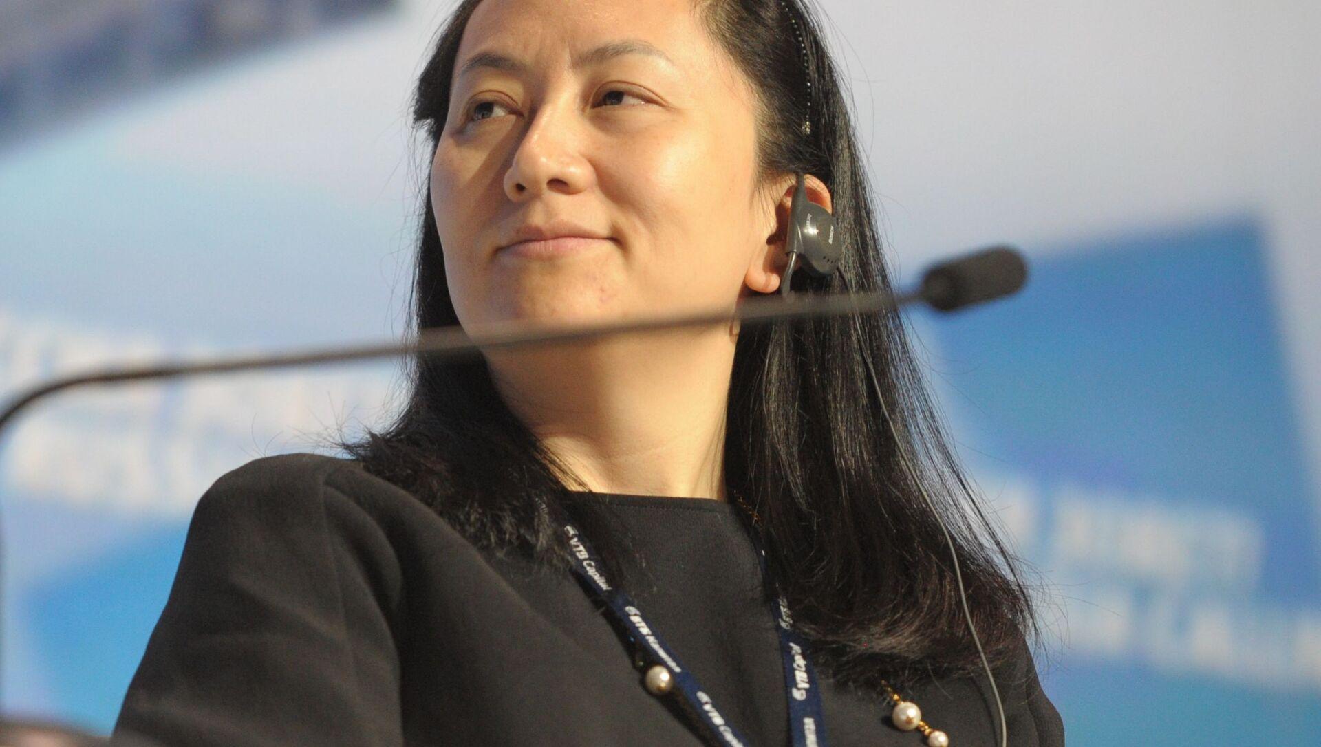 Главный исполнительный директор Huawei Technologies Мэн Ваньчжоу - Sputnik 日本, 1920, 25.09.2021
