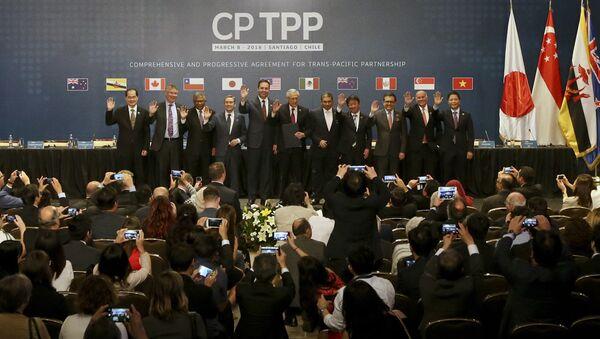 TPP合意 - Sputnik 日本