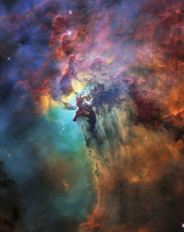 ハッブル宇宙望遠鏡が撮影した干潟星雲 - Sputnik 日本