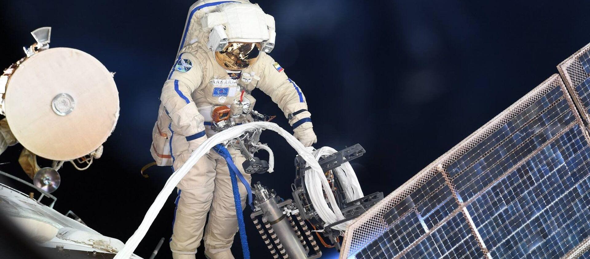 宇宙飛行士「資料写真」 - Sputnik 日本, 1920, 12.04.2021