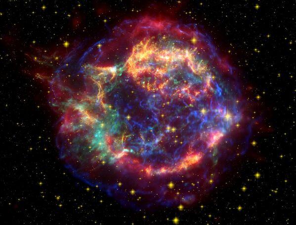 超新星残骸「カシオペヤ座A」 - Sputnik 日本