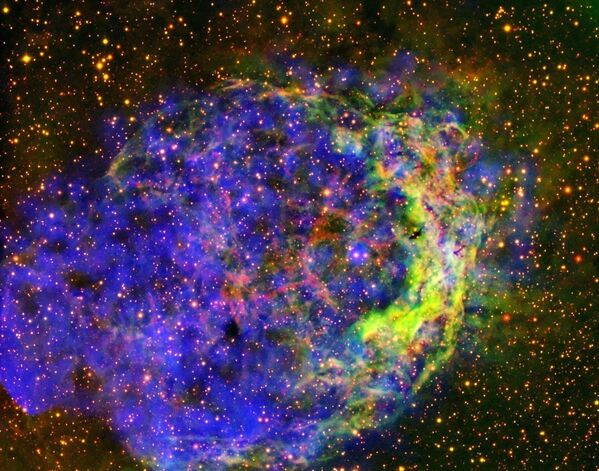 りゅうこつ座にある星雲「NGC 3199」のガス - Sputnik 日本