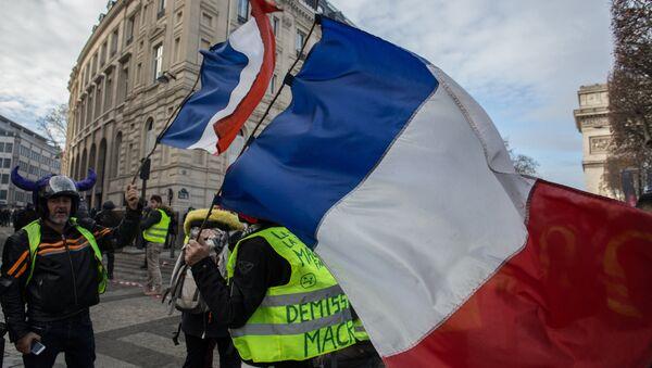 パリにあるデモ - Sputnik 日本