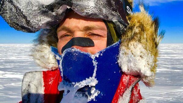 Американский спортсмен-экстремал Колин О'Брэди в Антарктиде - Sputnik 日本