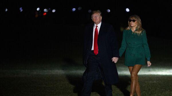 トランプ米大統領とその妻 - Sputnik 日本