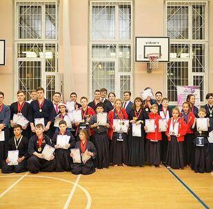 青少年剣道大会「ロシアの希望」 2018年12月29