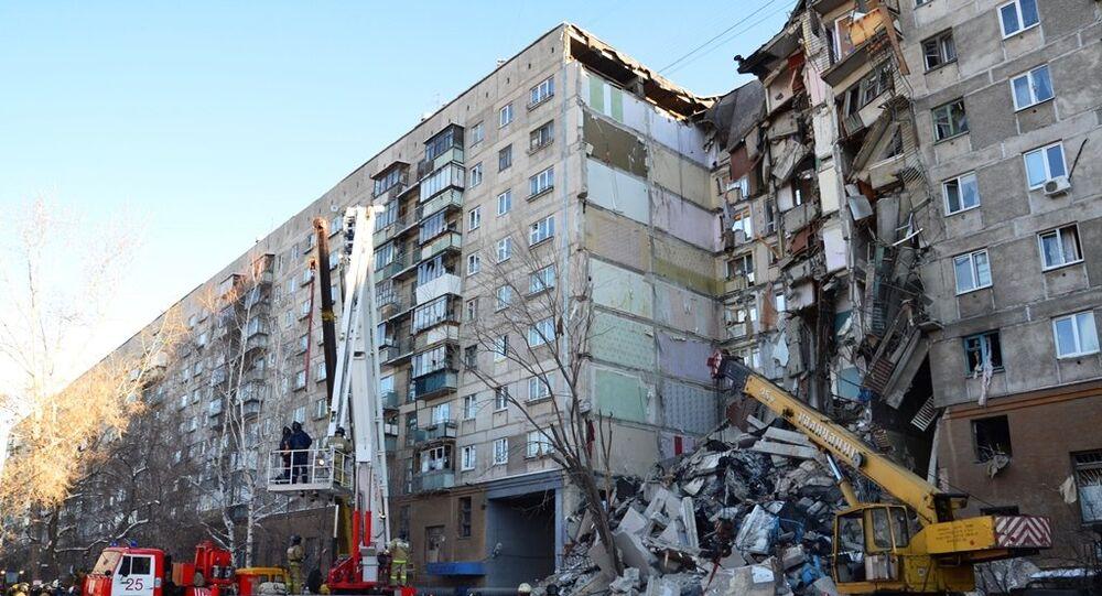 ダーイシュ(IS)が犯行声明 マグニトゴルスク住居ガス爆発