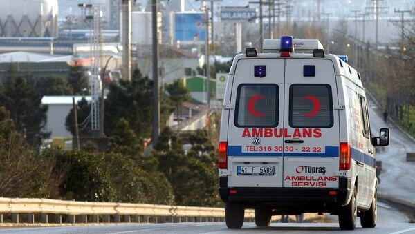 Una ambulancia turca (archivo) - Sputnik 日本