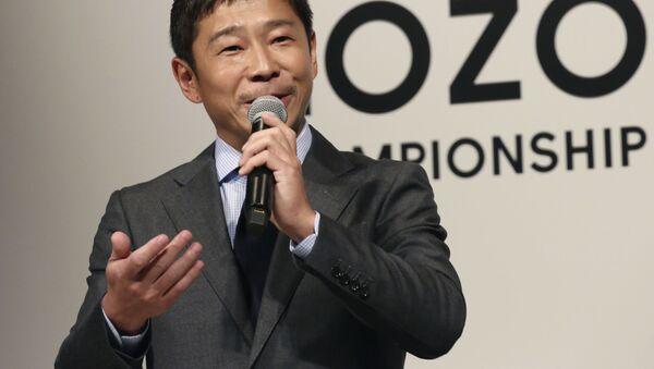 前澤友作氏 - Sputnik 日本