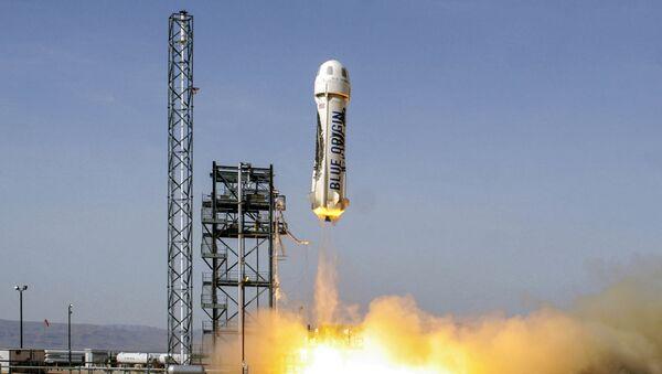 宇宙旅行ロケット「ニューシェパード」 - Sputnik 日本