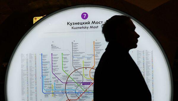 モスクワ地下鉄、最も古い路線図をネット上で公開【写真】 - Sputnik 日本