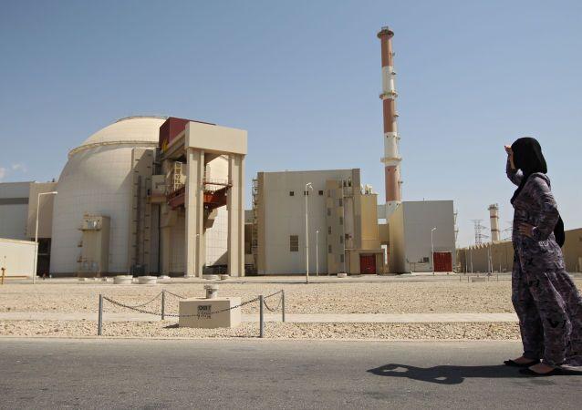 イランの原子力発電所「ブーシェフル」