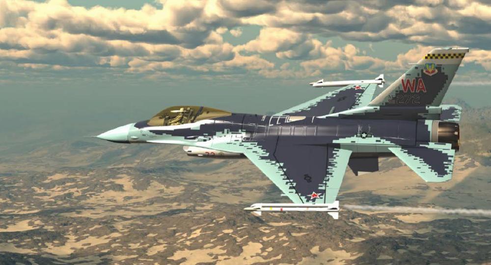 米F16戦闘機、露スホイ57戦闘機そっくりに塗り直しへ