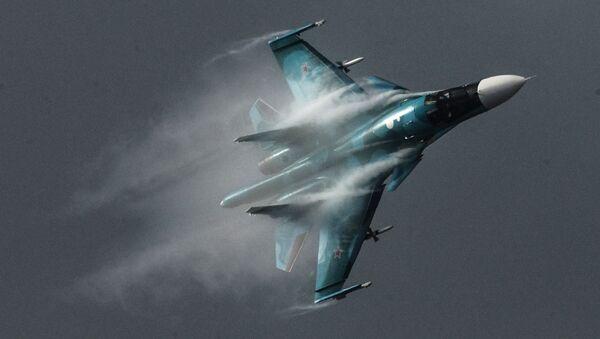 Caza Su-34 - Sputnik 日本