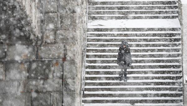 モスクワで68年ぶりの大雪 - Sputnik 日本