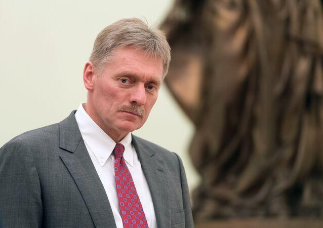 ロシア大統領府のペスコフ報道官(アーカイブ写真)